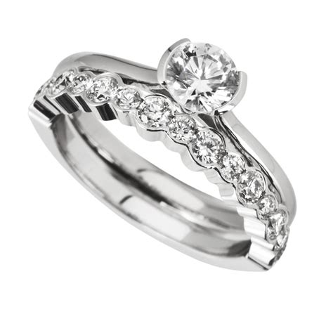 infinity wedding sets 15 best of infinity wedding bands sets