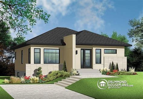 contemporary 2 bedroom house plans very popular contemporary bungalow with 2 bedrooms curb appeal and very low