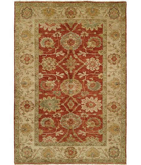 hri rugs peshawar collection design p 4 rust ivory hri rugs harounian rugs international
