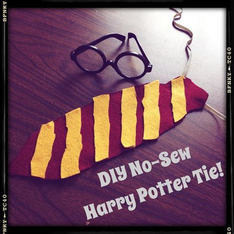 harry potter felt ties pin by cupcakes and lace on science wizardry pinterest