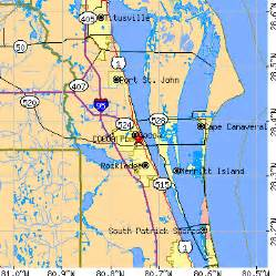 cocoa florida fl population data races housing