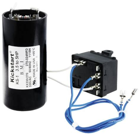 start capacitor heat air conditioner heat kickstart 3 1 2 5 ton 208 230v rheem 42 ks1 rectorseal 96560