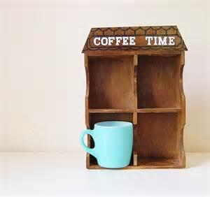coffee mug shelf kitchen decor house shadow box