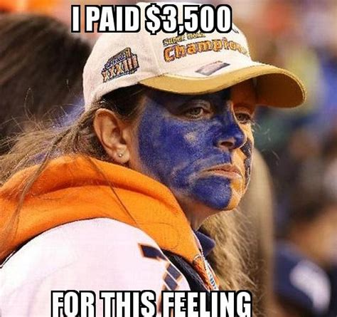 Broncos Fan Meme - super bowl 2014 terrible game hilarious memes