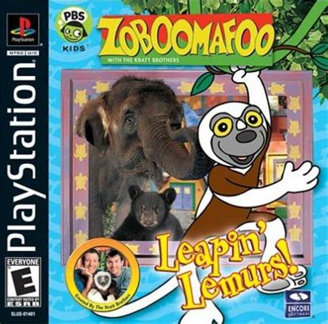 emuparadise team buddies zoboomafoo leapin lemurs box shot for playstation