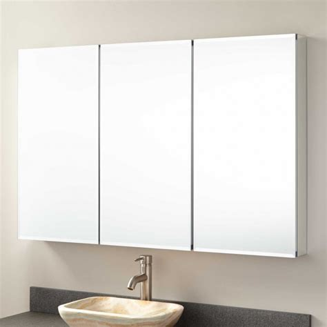 bathroom mirrored medicine cabinet 48 quot furview surface mount medicine cabinet bathroom