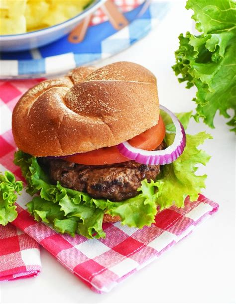 backyard burgers hearty backyard burger recipe