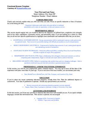 sle fillable resume fill printable fillable blank pdffiller