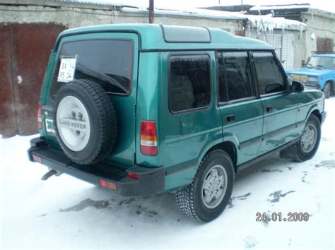 how make cars 1995 land rover discovery transmission control 1995 land rover discovery images
