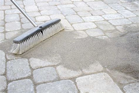Patio Jointing Sand by How To Get Rid Of Weeds On A Patio And Keep Them From