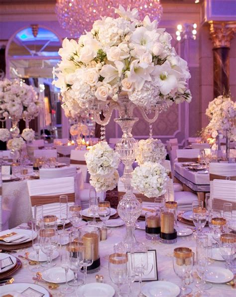 wedding centerpiece ideas archives weddings romantique - Wedding Reception Flower Centerpieces
