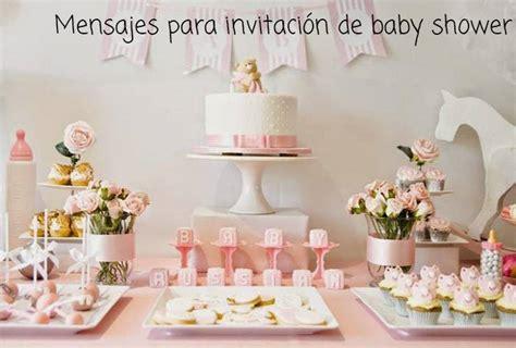 mensajes para invitaci 243 n de baby shower
