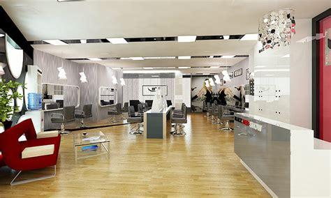 barber shop  beauty salon interior  model cgtrader