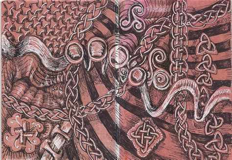 doodle knots my tangle pattern interweave