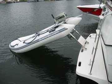 boat lifts for sale uk houseboat dinghy davits