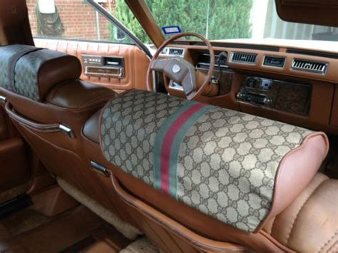 Gucci Interior For Cars For Sale buy used 1979 cadillac seville gucci edition sedan 4 door