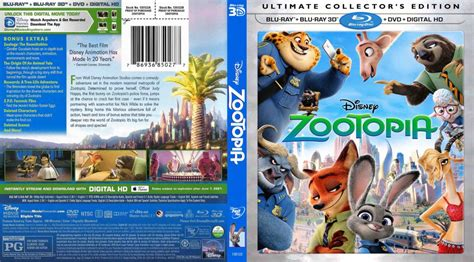 download film zootopia blu ray zootopia 3d dvd covers bluray covers and cover art