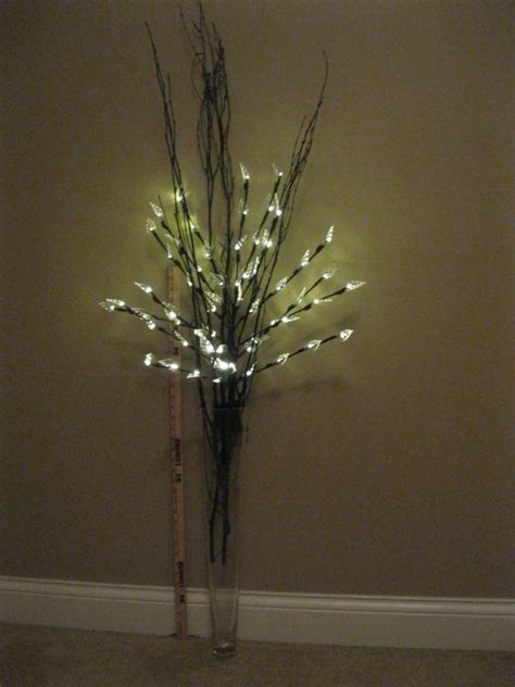 Vase For Lighted Branches by F S Lighted Floral Branches 24 Quot Pilsner Vases Curly