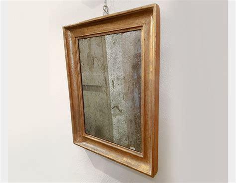 specchiera bagno legno antica specchiera in legno dorato