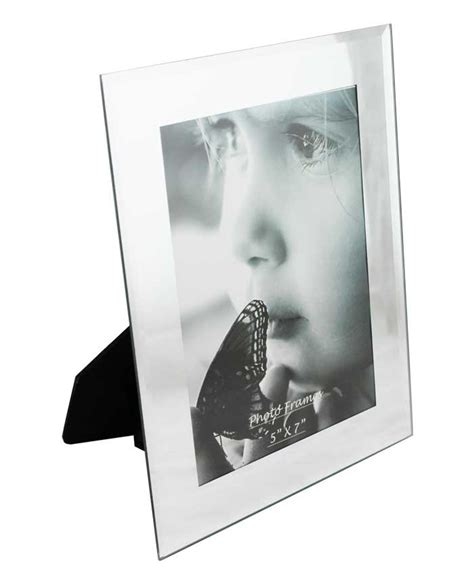 plus picture frames glass picture frame with mirrored