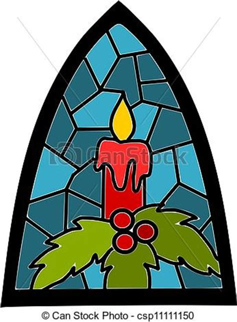 candle  blue stained glass window  christmas time