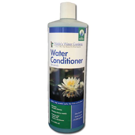 webb s water gardens water conditioner for ponds 32 oz