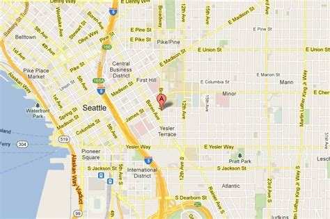 seattle hospitals map seattle acls pals bls certification
