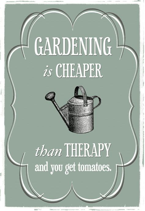 Gardeners Therapy by Vixen Craftworks