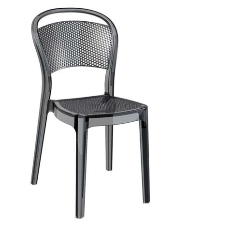 chaise moderne en polycarbonate bee 4 tables