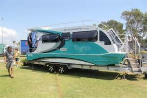 boat a home caravan that floats on road to spring home show toowoomba chronicle