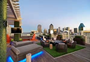 Rooftop Patio Design by Whimsical Roof Top Garden In Dallas Blends Urban
