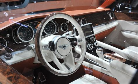 bentley exp 9 f interior car and driver