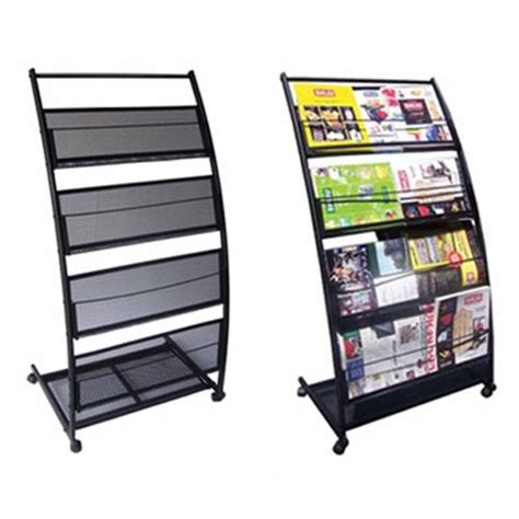 literature display racks brochure holders magazine racks