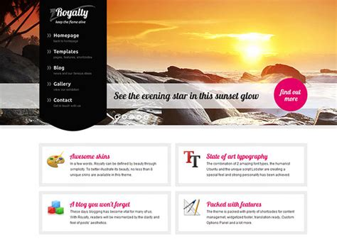 wordpress themes free left menu left menu wordpress themes 27 premium left menu themes