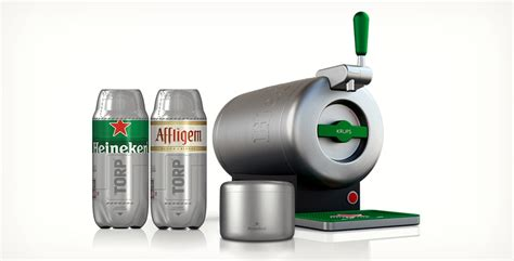 heineken sub home draught tap system cool material