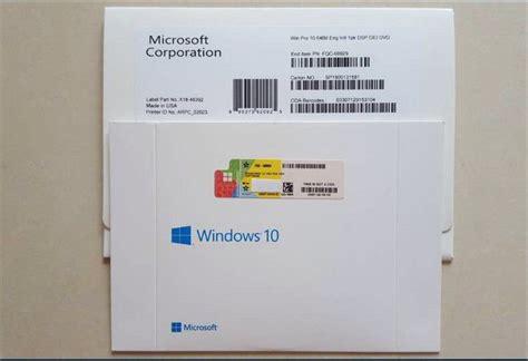 jual windows  professional  bit original packaging
