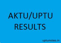 Uptu Mba Notes by Uptu Aktu Results 2015 16 Uptu Notes
