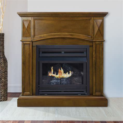 pleasant hearth 36 in compact heritage vent free