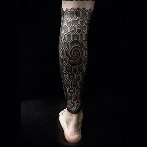 skin deep tribal tattoo the 25 best calf sleeve ideas on