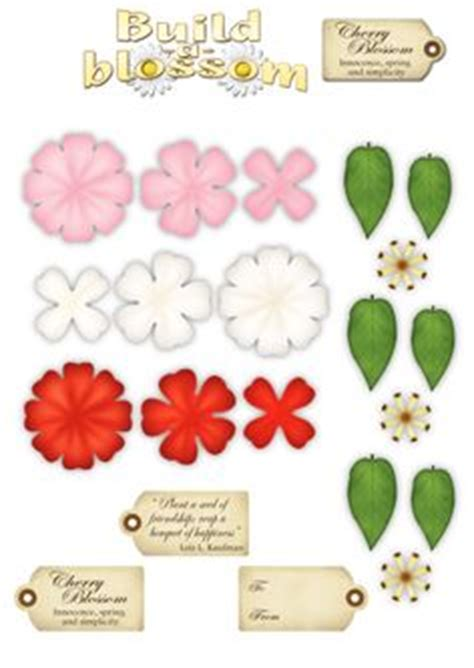 Papercraft Flower - 1000 images about 3d crafts on 3d sheets