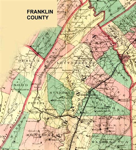 a history of st and franklin counties new york from the earliest period to the present time classic reprint books franklin county pennsylvania maps and gazetteers