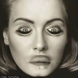 vire eye color image of adele leaves the