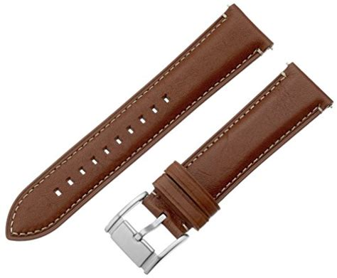 cheap light brown leather fossil s221246 fossil s221246 22mm leather light brown