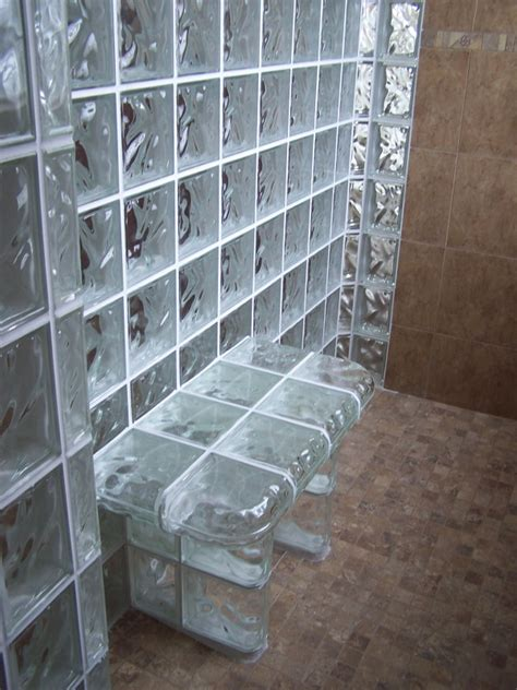 glass block bathroom ideas 42 best design glass block shower images on pinterest