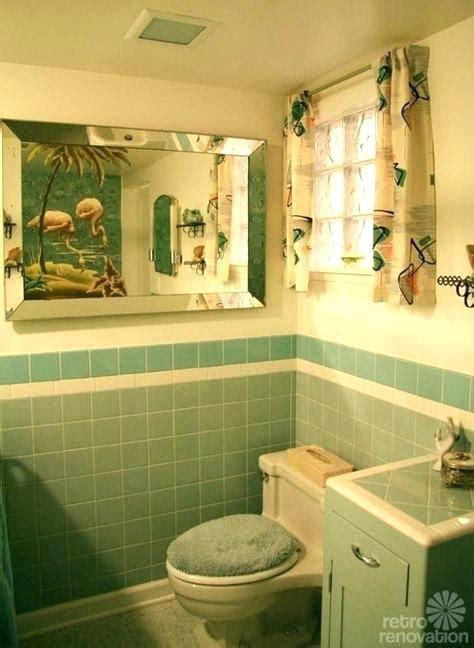 vintage blue tile bathroom kristinwhatch