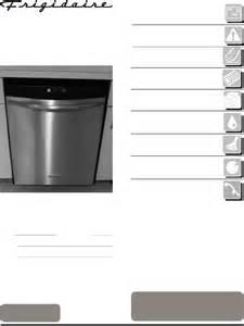 Frigidaire Dishwasher Manual Frigidaire Dishwasher 4400 User Guide Manualsonline