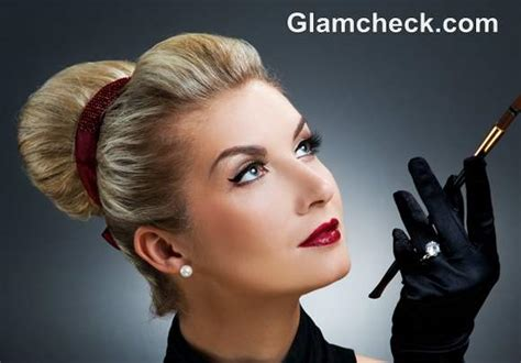 vintage hairstyles buns retro hairstyles and makeup looks how to