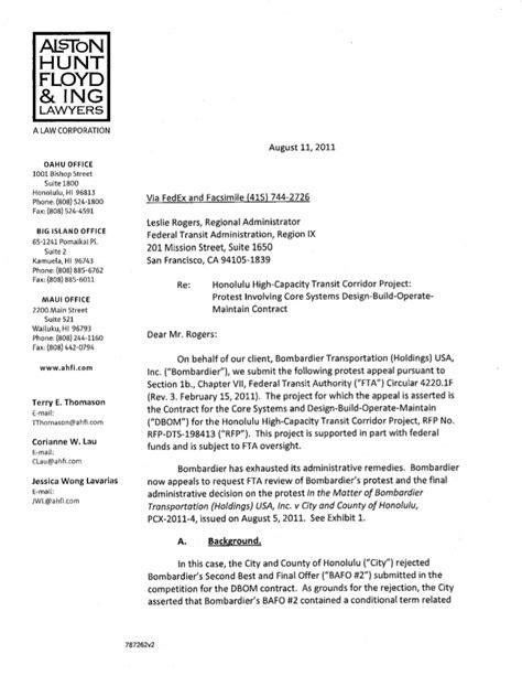 Appeal Letter For Beating Light Bombardier Fta Appeal Letter