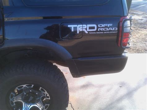 Toyota 4runner Decals What Do You Guys Think Trd Decal Page 3 Toyota
