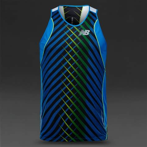 balance excel race day singlet mens running clothing